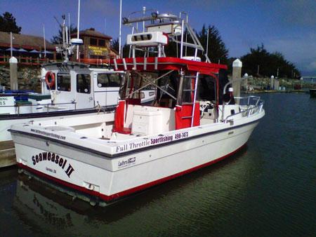 Sea weasel ii eureka ca captain gary for Eureka ca fishing