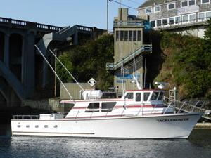 Tacklebuster depoe bay or captains jeurgen turner for Depoe bay fishing charters