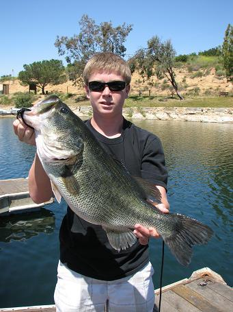 Lake poway fishing report for week ending 25 april 2010 for Lake poway fishing
