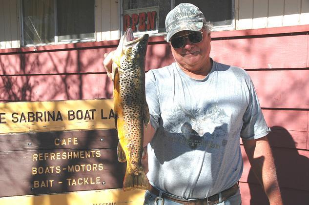 Lake sabrina fish report bishop ca inyo county for Bishop fishing report