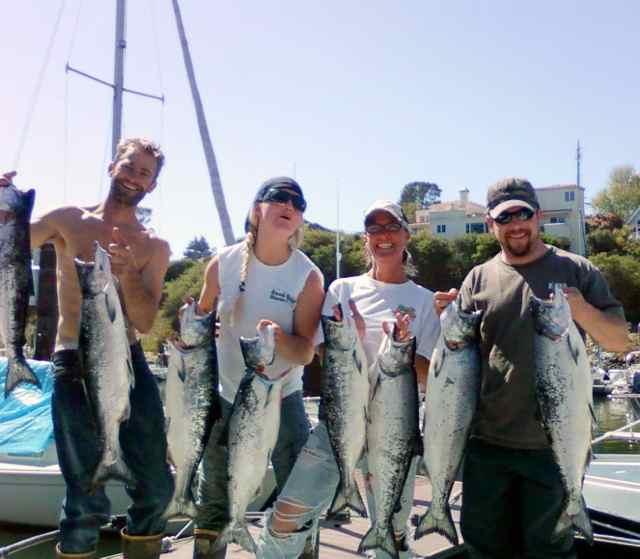 Saltwater report salmon fishing remains consistent for for Santa cruz fishing report