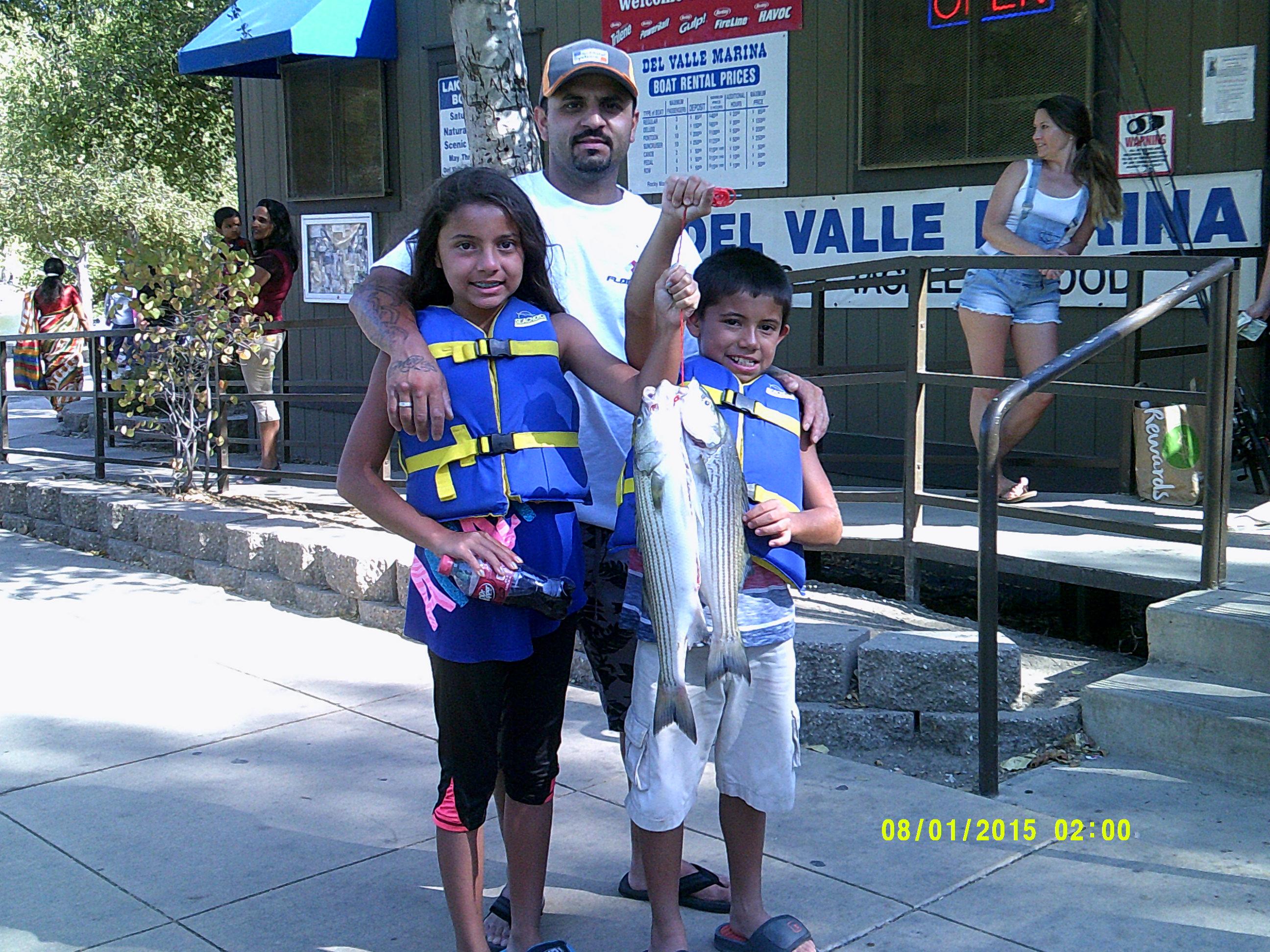 Del Valle Lake Fish Report - Livermore, CA (Alameda County)