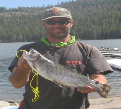 caples lake fish report kirkwood ca alpine county ForCaples Lake Fishing Report