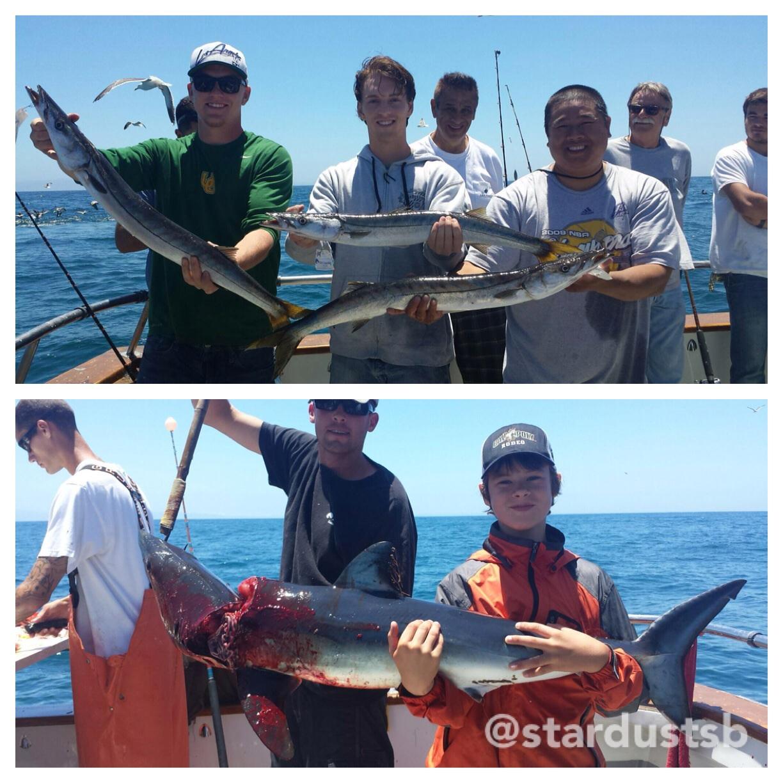 Stardust summertime and the fishn 39 s ez for Santa barbara fishing report