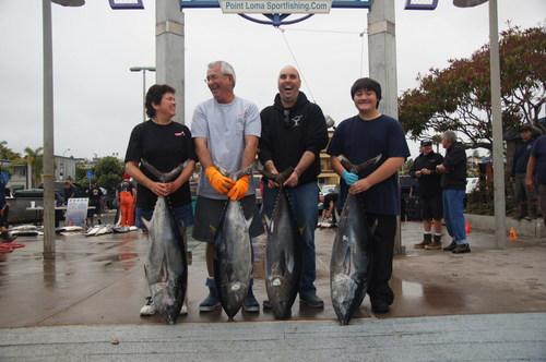 Point loma sportfishing bluefin tuna american angler for Point loma sportfishing fish count