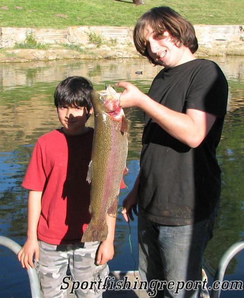 Lake poway fish report poway ca san diego county for Lake perris fishing report