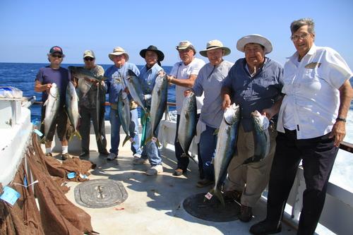 Long beach sportfishing correction 10 yellowtail for Long beach sport fishing