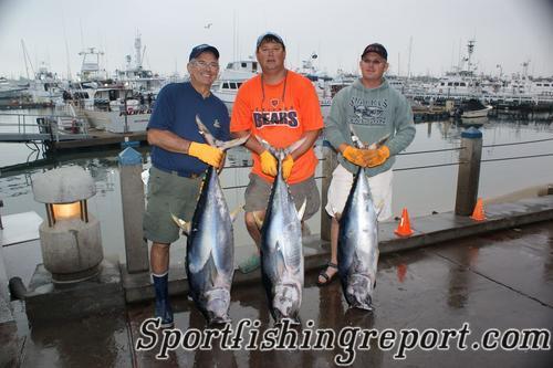Hookup fishing report