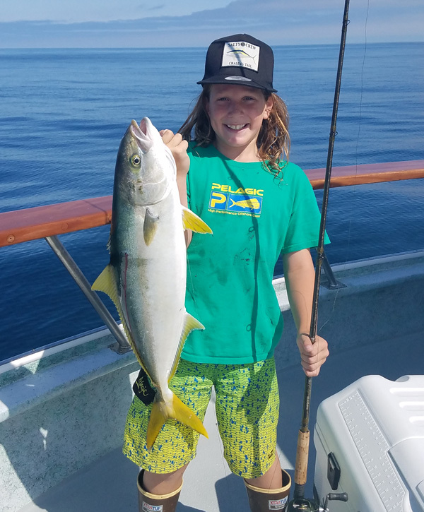 California yellowtail counts by boat july 31 2016 for Oxnard fish count