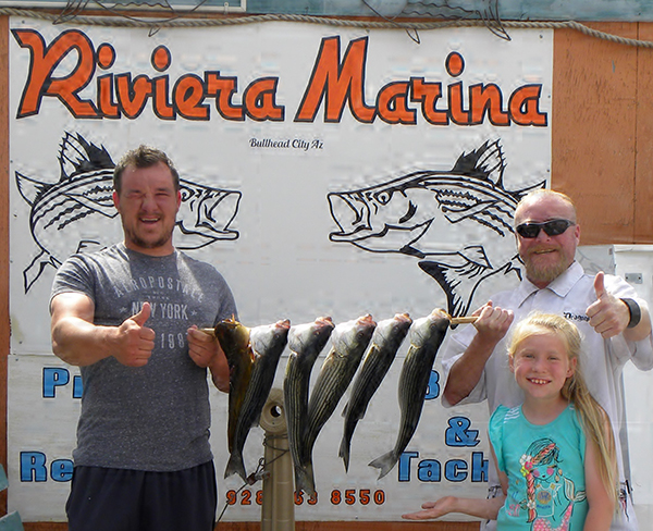 Lake mohave fish reports map for Lake mohave fishing report