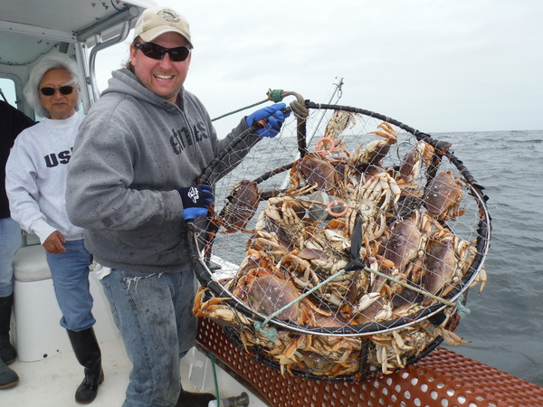 Pacific Halibut and crab limits