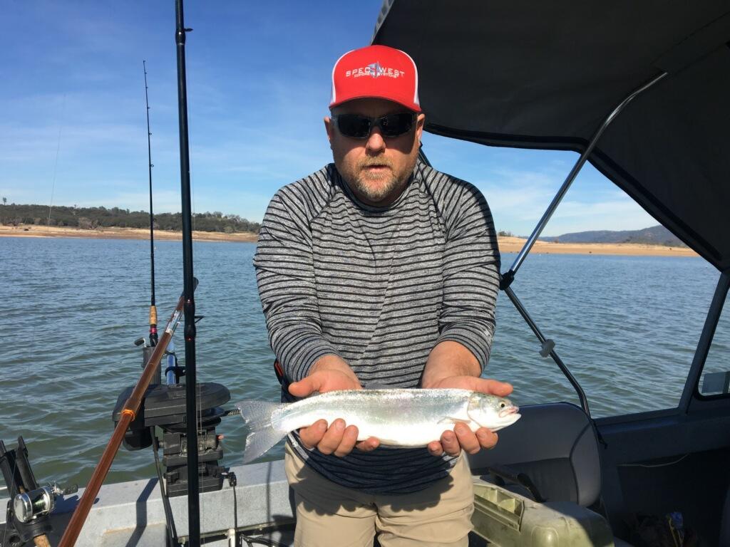 Folsom lake fish reports map for Lake natoma fishing