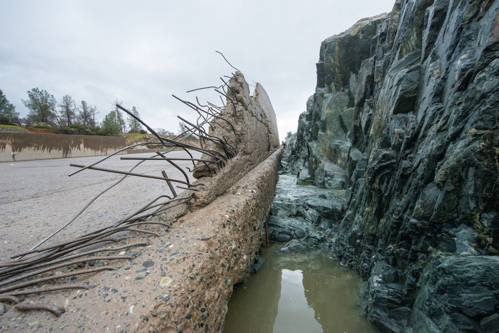 Outdoors - Oroville Dam progress continues