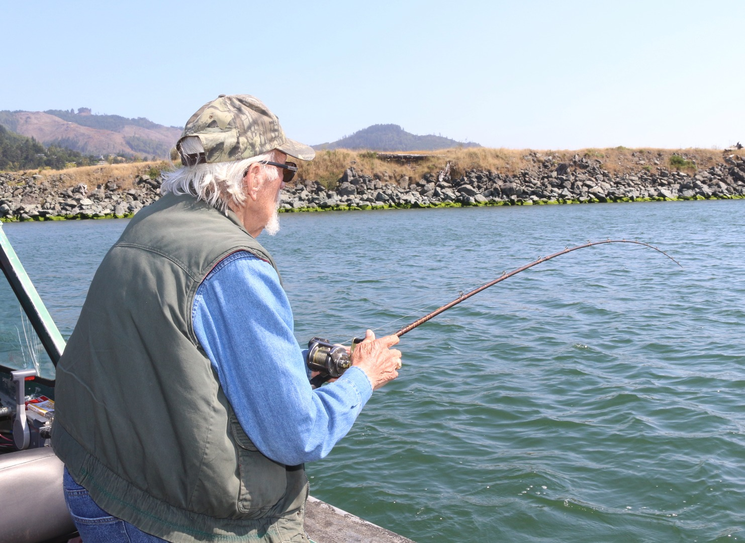 Rogue river fish report gold beach or for Oregon coast fishing report