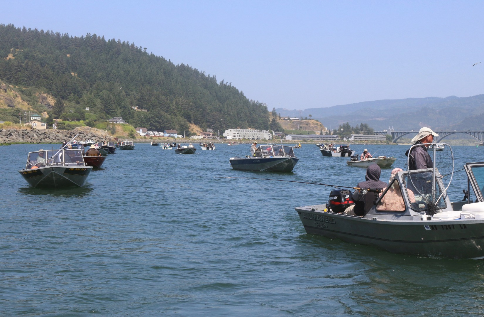 Rogue river fish report gold beach or for Seaside oregon fishing