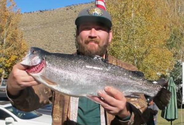Convict Lake Fish Report - Mammoth Lakes, CA (Mono County)