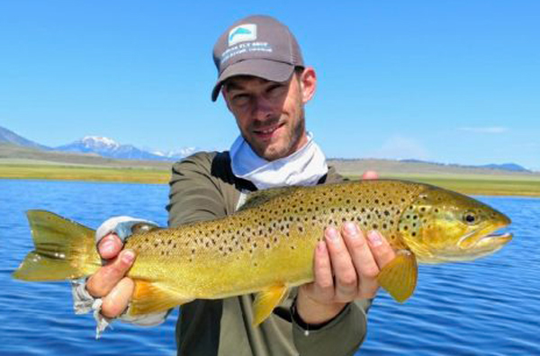 Crowley lake fish reports map for Mammoth fishing report