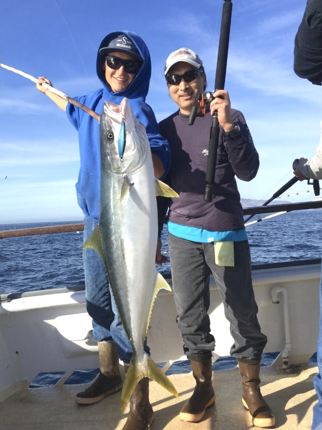 California yellowtail counts by boat january 17 2018 for Oxnard fish count
