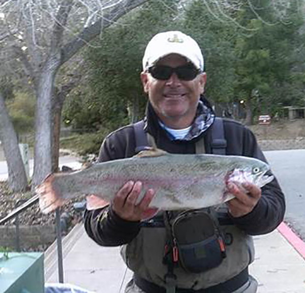 del valle lake fish reports map