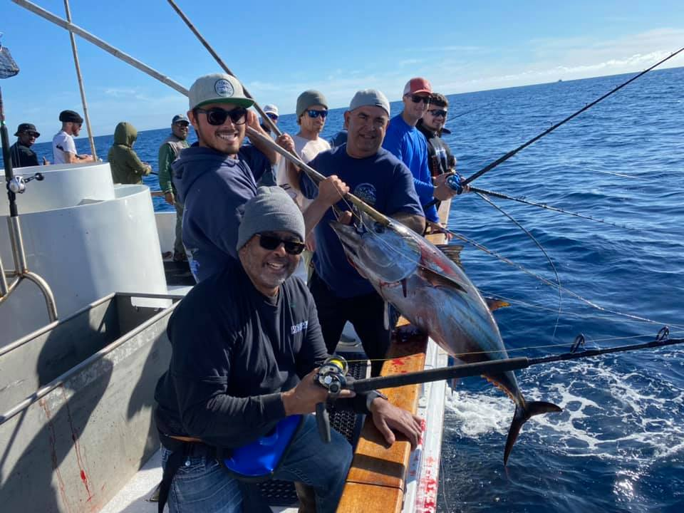 First 1.75 Day Bluefin Trip of 2020 a Success