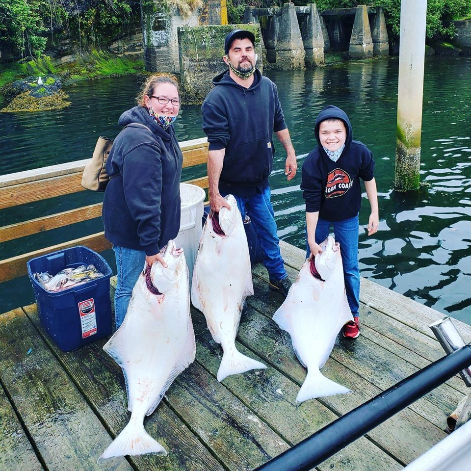 Returned Home Early With Halibut Limits