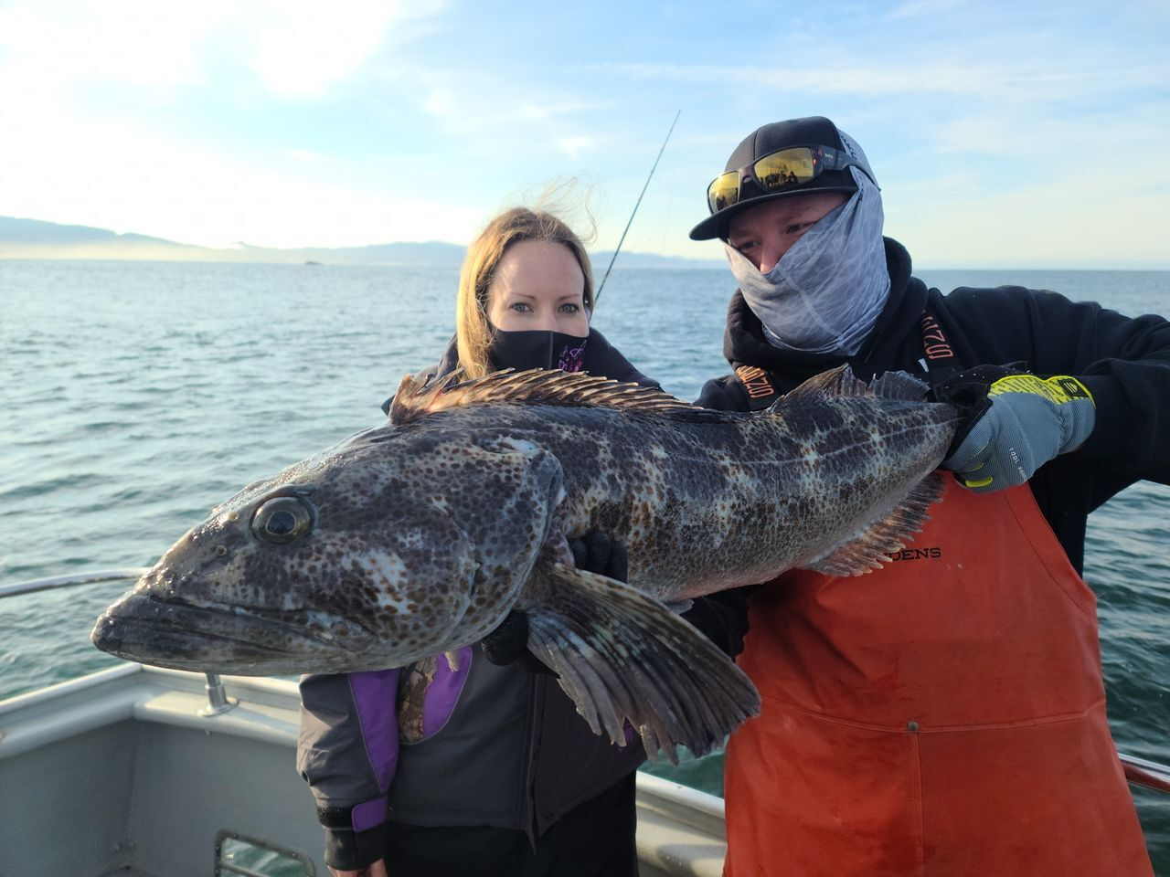 Awesome Lingcod Bite Today!