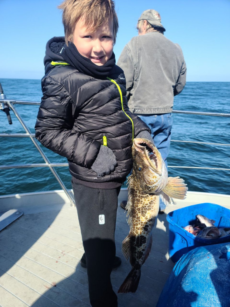 Awesome Lingcod Bite Today