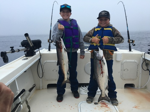 Sept salmon limits in Eureka