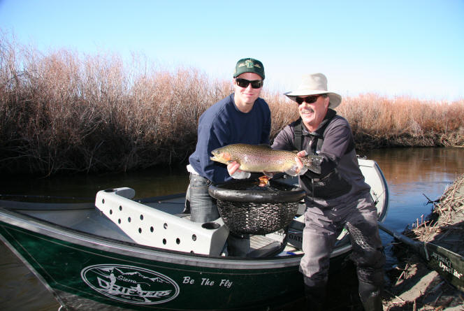 Owens river fish report ca for Trinity bay fishing report