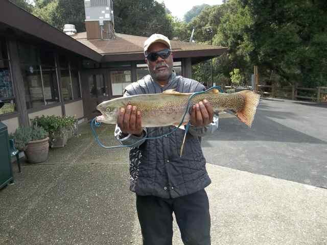 San pablo reservoir fish report el sobrante ca contra for The fish report