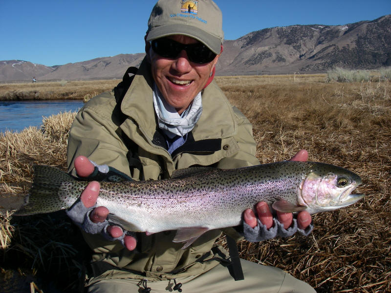 Owens river fish report ca for Odfw fishing report