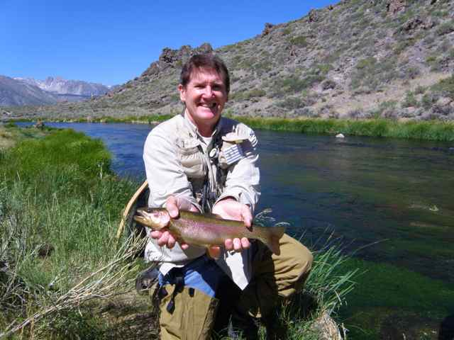 Hot creek fish report mammoth lakes ca mono county for Eastern sierra fishing