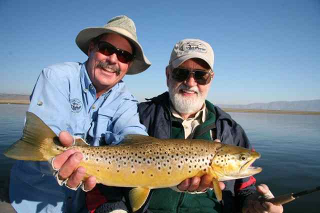 crowley lake fish report mammoth lakes ca mono county