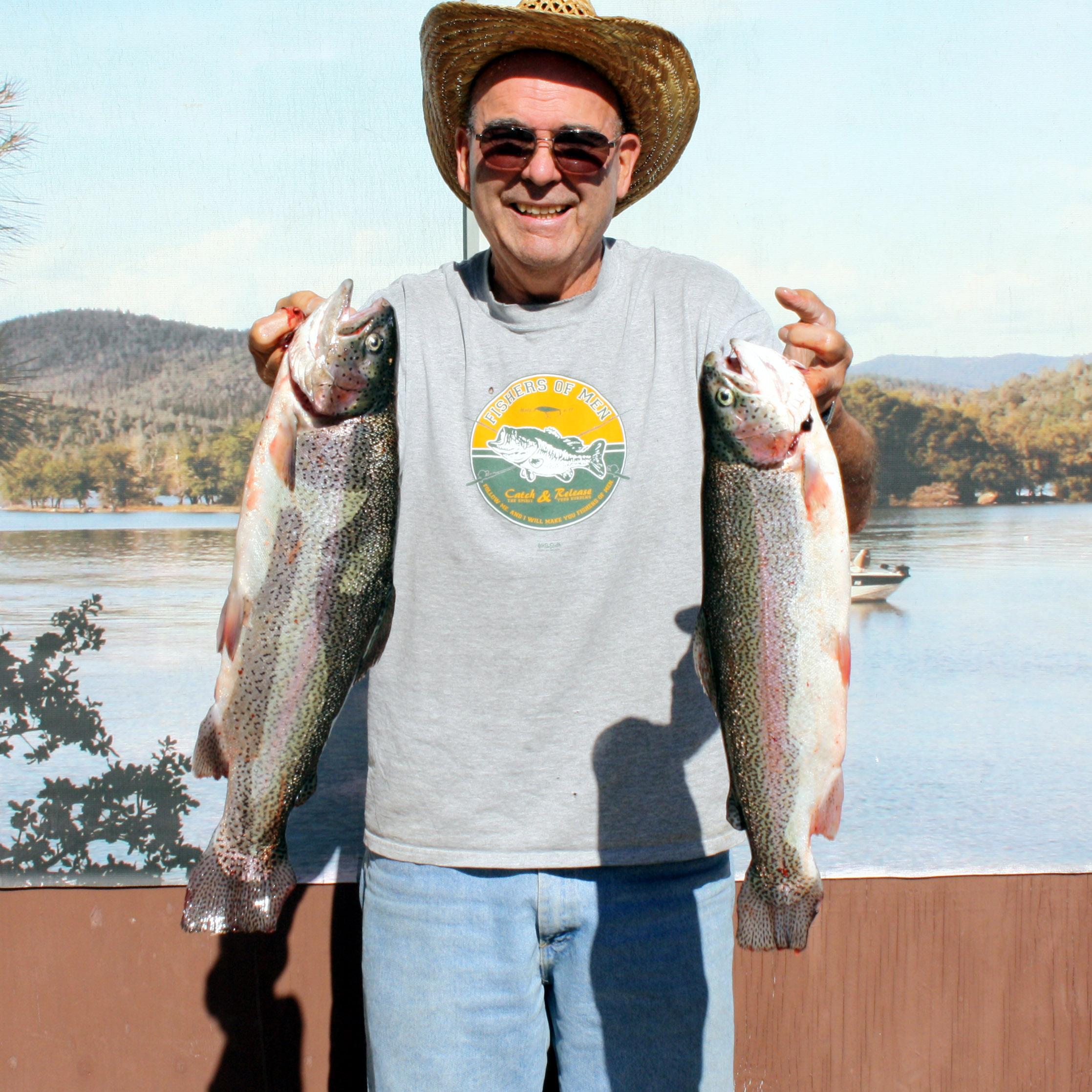 Howard Lake Fish Report Ca Mendocino County