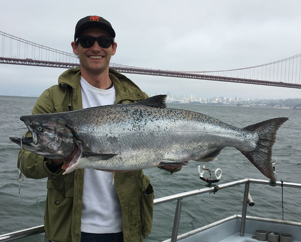 Chinook salmon counts by boat september 9 2016 for Lunar fishing forecast