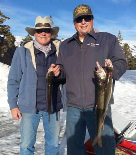 Caples Lake Fish Report Kirkwood Ca Alpine County