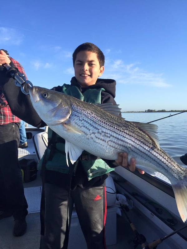 San joaquin river fish reports map for Stockton fishing report