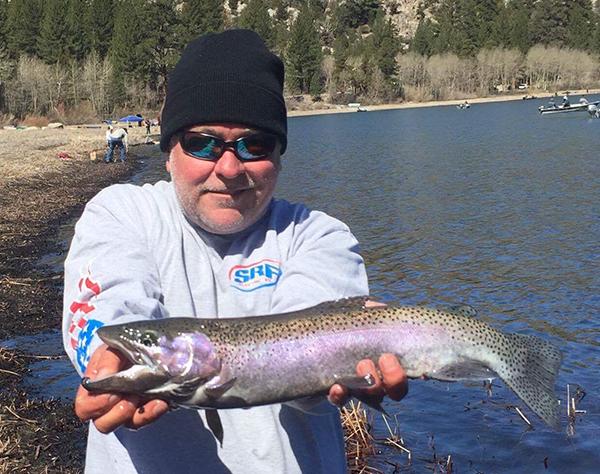 June lake fish reports map for June lake fishing report