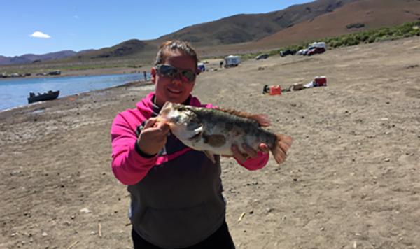 Pyramid lake fish reports map for Pyramid lake fishing report