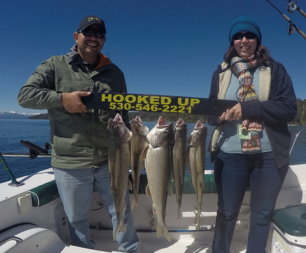 Lake tahoe fish reports map for Truckee fishing report