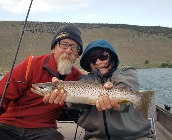 Grant lake fish report june lake ca mono county for Northeast saltwater fishing reports