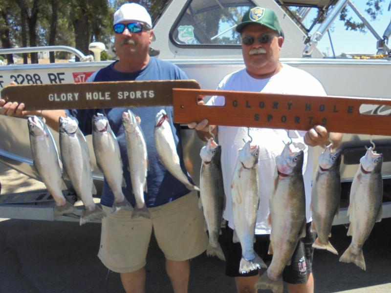 New Melones Reservoir Fish Report - Angels Camp, CA