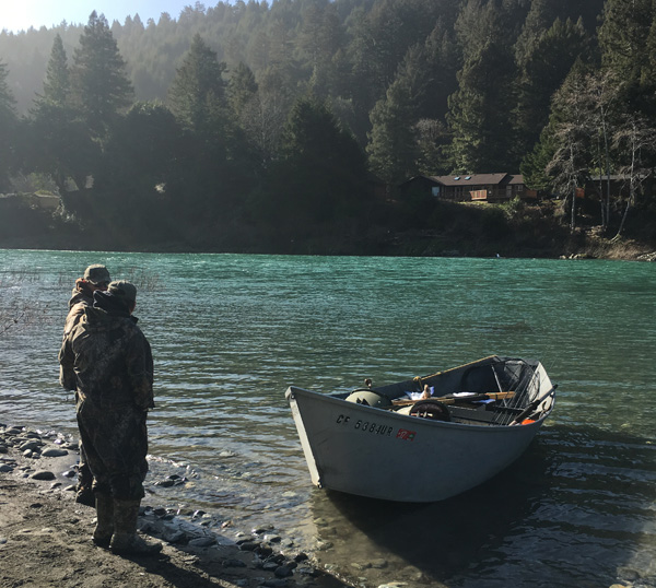 Smith river fish report smith river ca del norte county for Ruby river fishing report