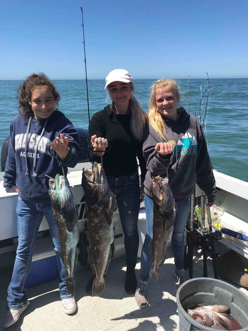 Fish report rockfish good before wind for Odfw fishing report