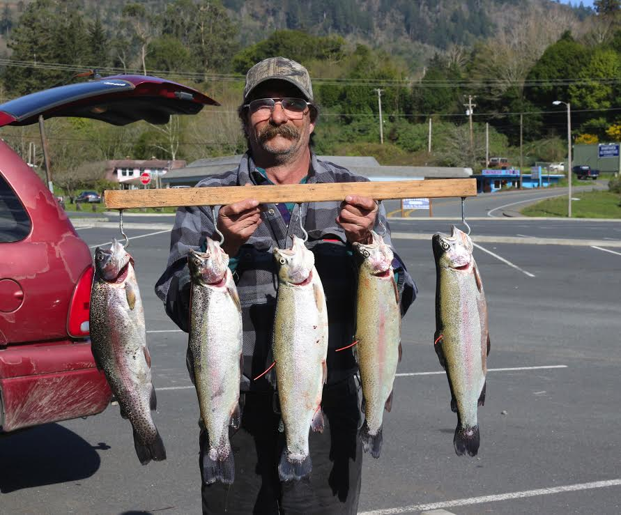 Garrison Lake Fish Report - Port Orford, OR (Curry County)