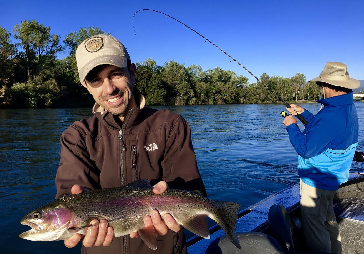 Sacramento river lower fish report redding ca shasta for Sacramento river fishing