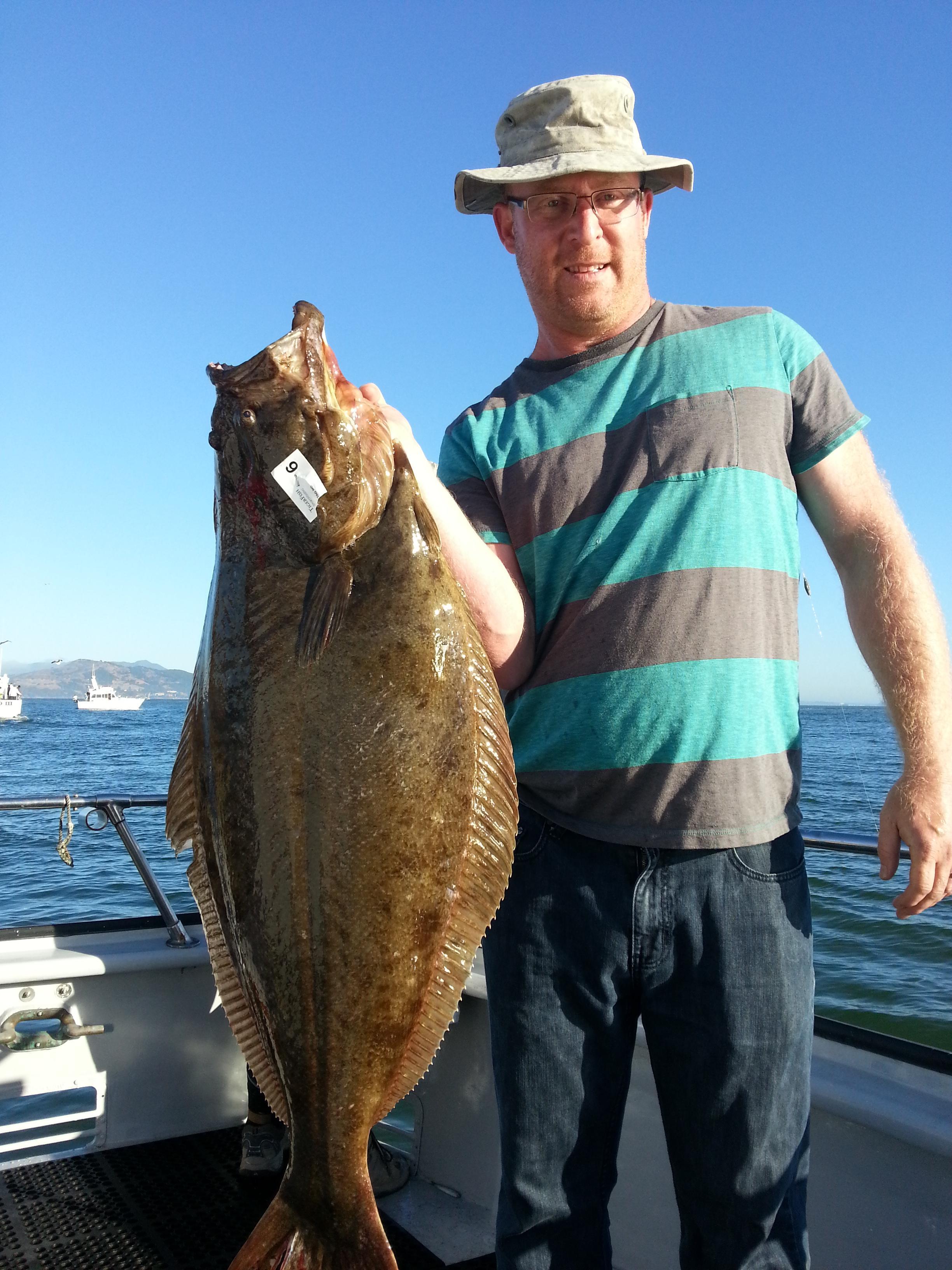 California halibut counts by boat june 16 2017 for California halibut fishing