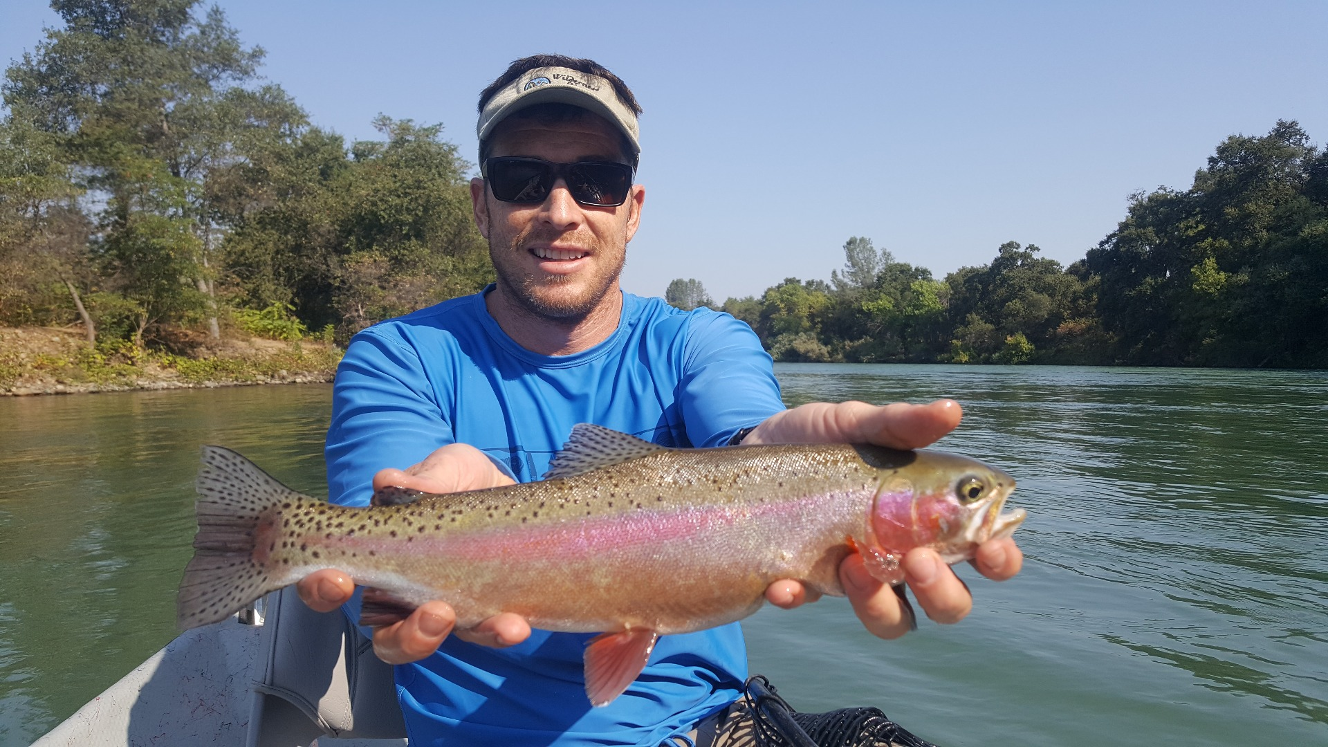 Sacramento river fish report ca for Seven b s fishing report