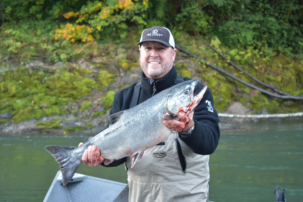 Chetco river fish report brookings or curry county for Oregon coast fishing report