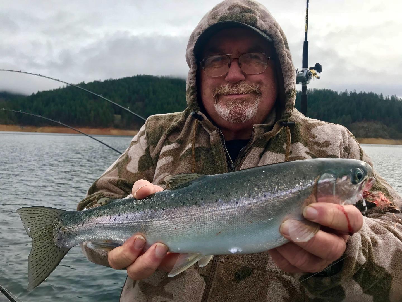 Trinity lake fish report trinity center ca trinity county for Trinity bay fishing report